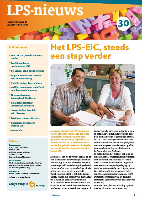 LPS-Nieuwsbrief